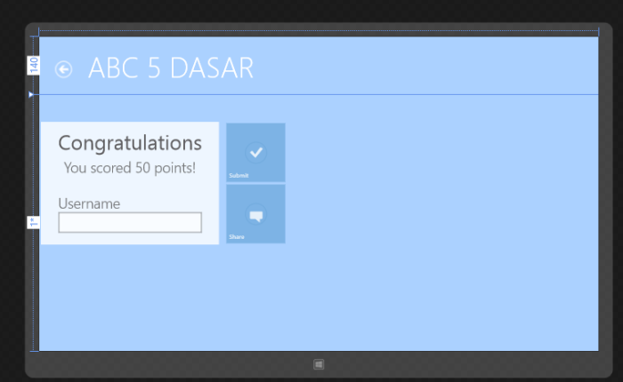 Create Simple Game. ABC5DASAR (SERIES5)