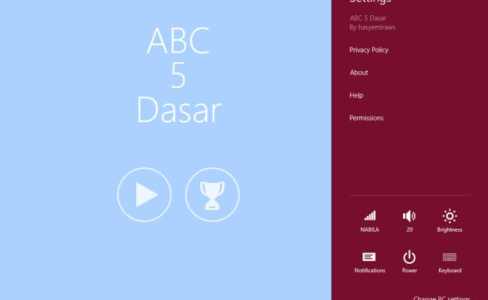 Create Simple Game. ABC5DASAR (SERIES7)