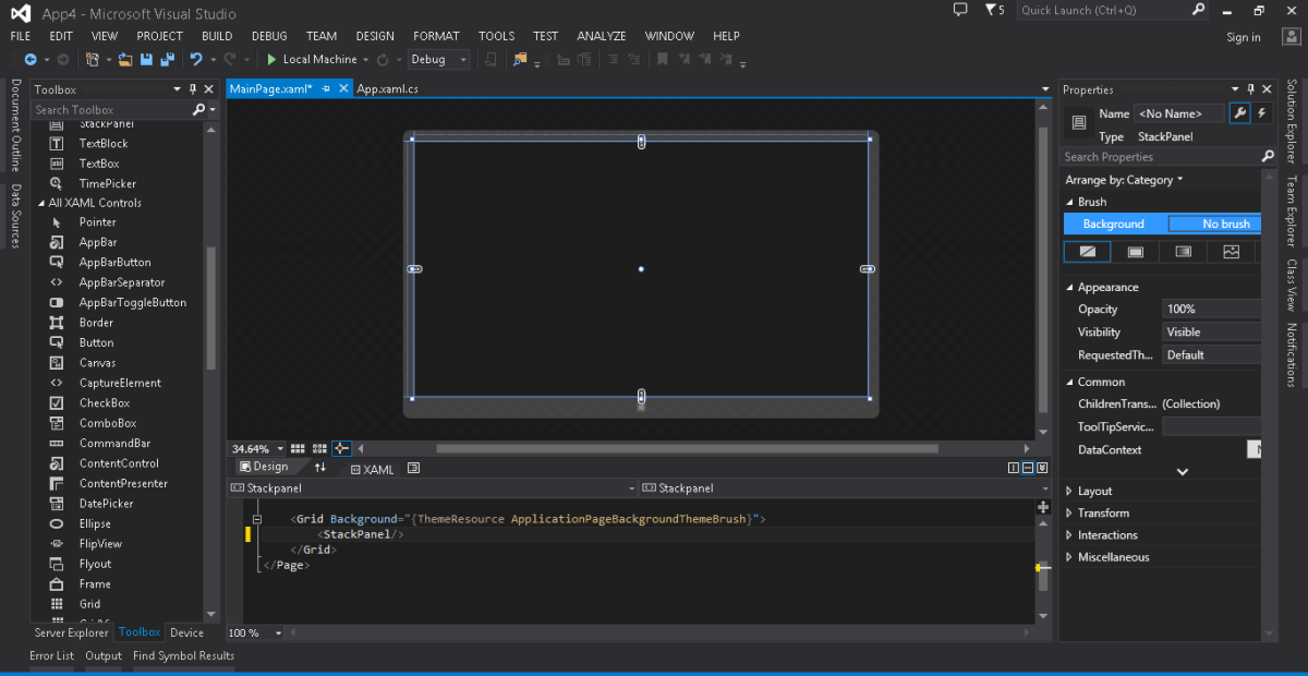 Getting Started. Pengenalan Visual Studio 2013 Professional